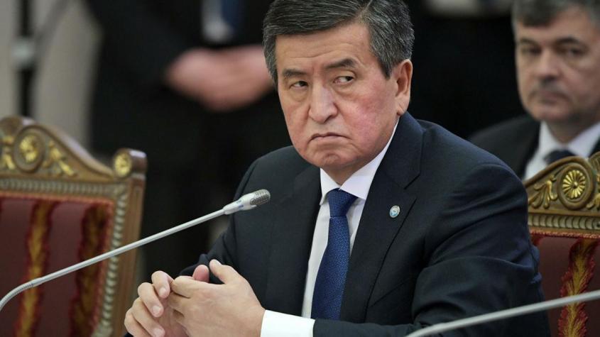 Жээнбеков назвал условие, при котором покинет пост президента Киргизии