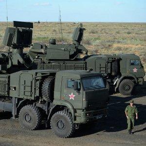 ВС РФ получат минимум пять полков новейшего ЗРПК «Панцирь-С»