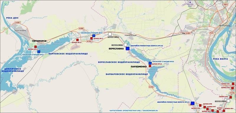 Зачем американским стратегам понадобился Волго-Донской канал?