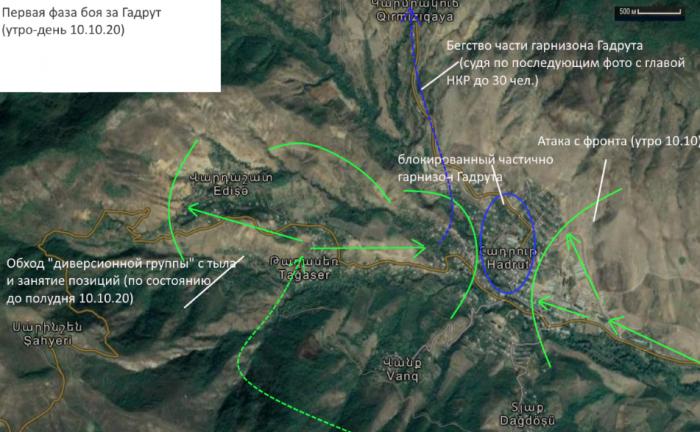 Война Азербайджана с Арменией в Карабахе: бой 10 октября в Гадруте – разбор сражения