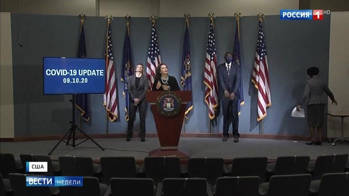 Выборы в США: будущие вицепрезиденты столкнулись в словесной перепалке