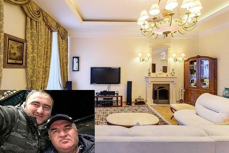 Элитные апартаменты в Петербурге площадью 260 квадратных метров сенатора от Карачаево-Черкесии Рауфа Арашукова