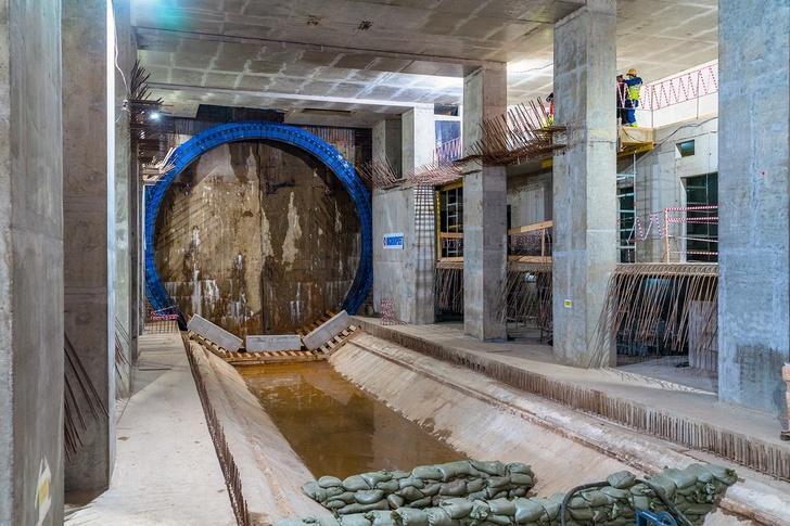 На западном участке БКЛ московского метрополитена завершили проходку тоннелей
