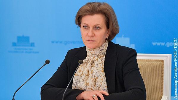 Анна Попова сочла бессмысленным блокирование экономики из-за коронавируса