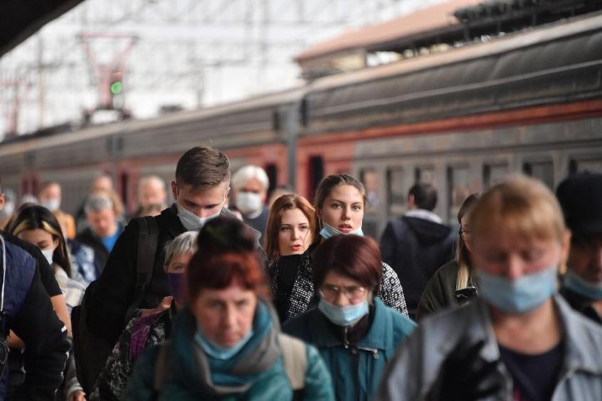Рейд прошел на трех вокзалах, выявили почти 150 нарушителей