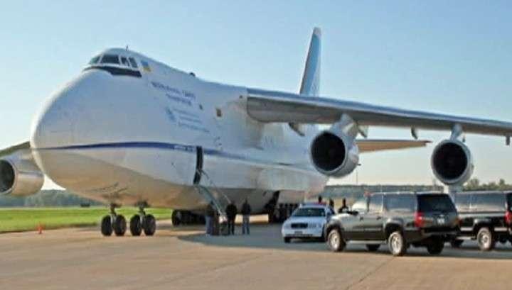 Российский самолёт до сих пор не вылетел из Нигерии