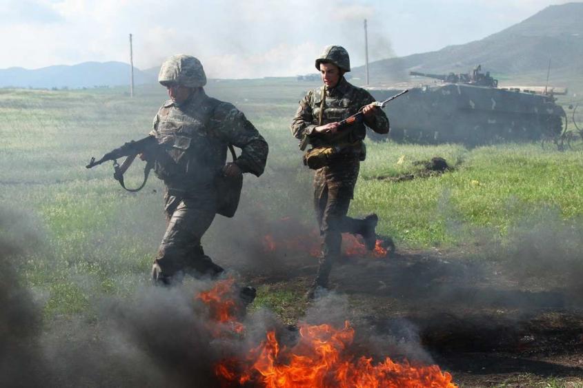 Cамые жестокие бои в Карабахе: армянские бойцы творили чудеса
