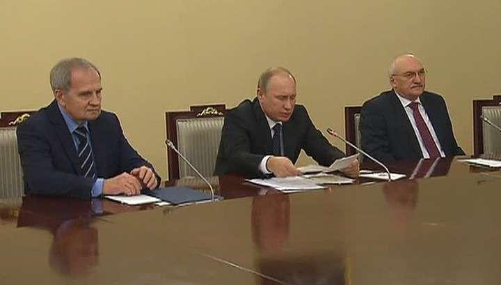 Владимир Путин: решения Конституционного суда должны исполняться безусловно