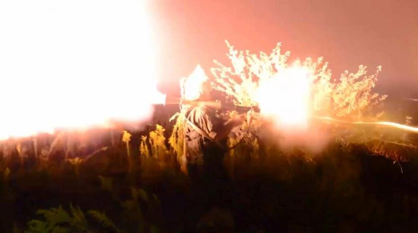 Атака российских военных на лагерь террористов в Абхазии: впечатляющие кадры ночной спецоперации (ВИДЕО)