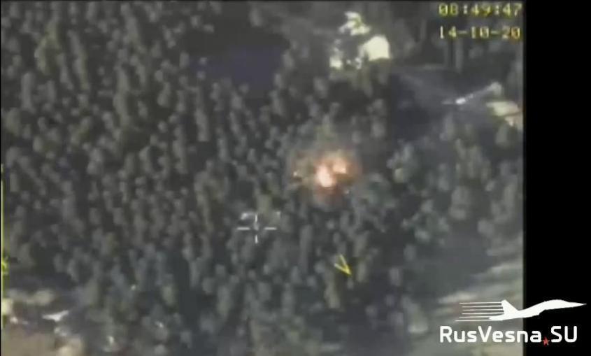 ВКС России начали уничтожать лагеря подготовки террористов из-за Карабаха