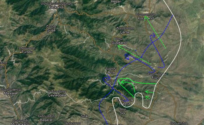 Битва за Гадрут окончена: 16 октября – юго-восточный Карабах для Армении уже потерян. Физули