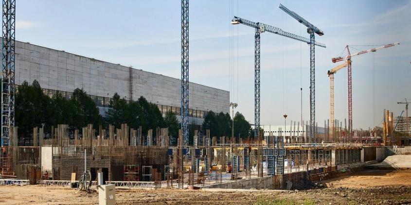 Ход строительства Национального космического центра в Москве