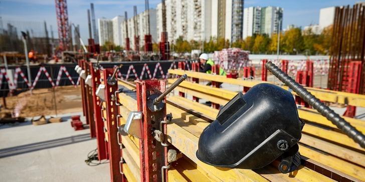 Ход строительства Национального космического центра в Москве. Сентябрь 2020