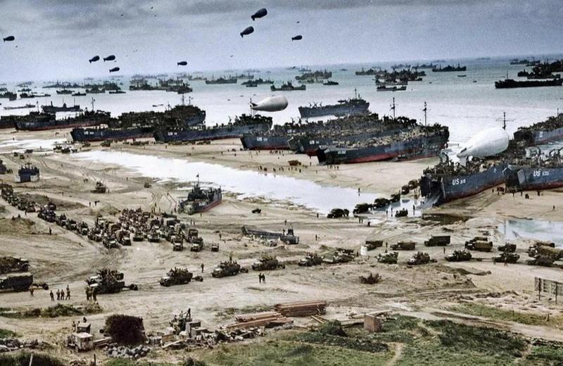 Как русская армия обеспечила высадку союзников в Нормандии в 1944 году. О чём молчит запад
