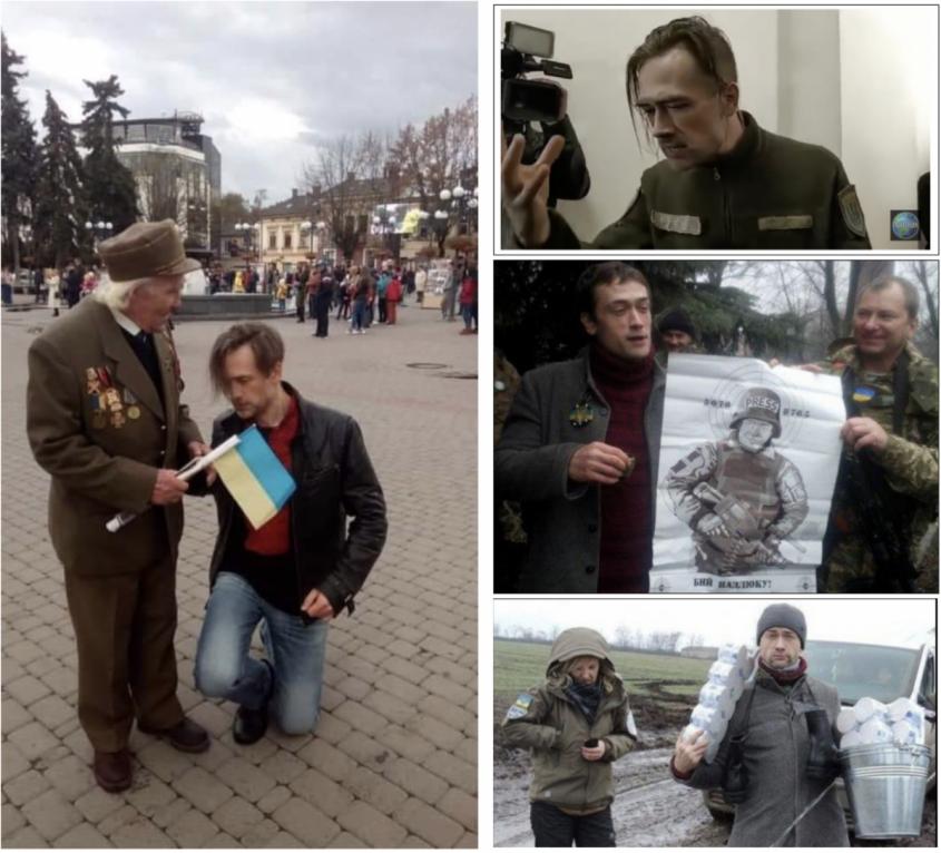 Венец карьеры российского актера-предателя Анатолия Пашинина