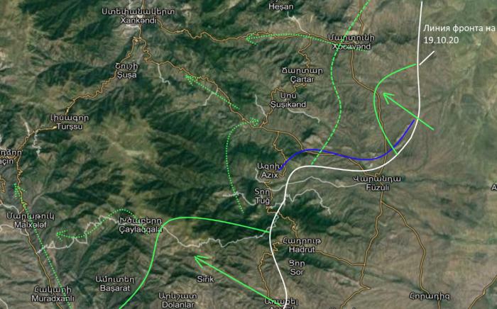 Война в Карабахе 21 октября: Бойня на юге – Армении пора подписывать капитуляцию