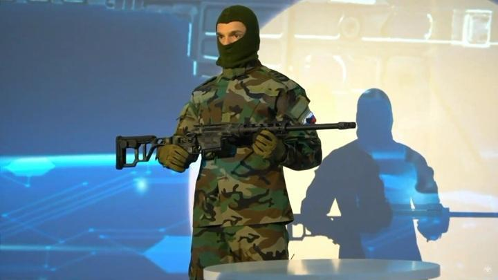Рособоронэкспорт представил новую компактную снайперскую винтовку ДВЛ-10М3