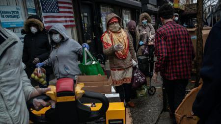 New York Times: каждый шестой житель Нью-Йорка не может позволить себе еду