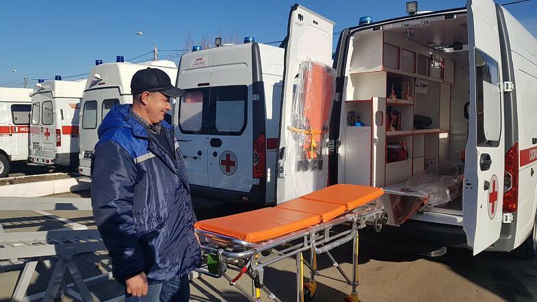 Алтайский край получил 29 новых автомобилей скорой помощи