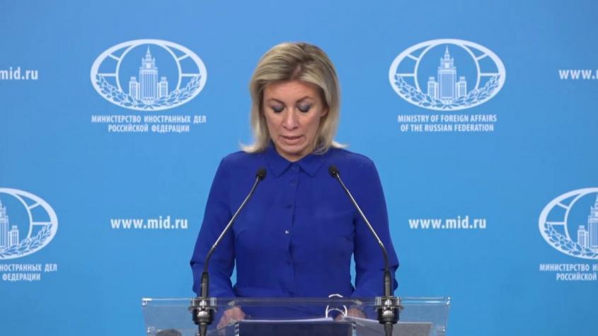 Брифинг Марии Захаровой 22 октября 2020 года. Полное видео