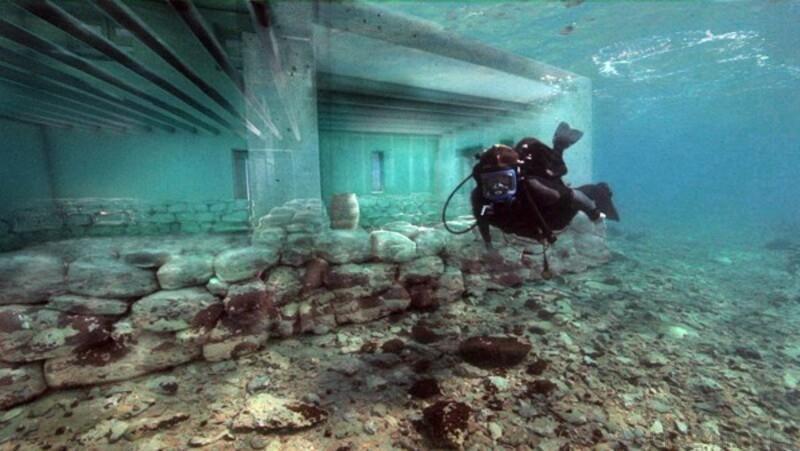 5 древних подводных городов, о существовании которых большинство даже не подозревают