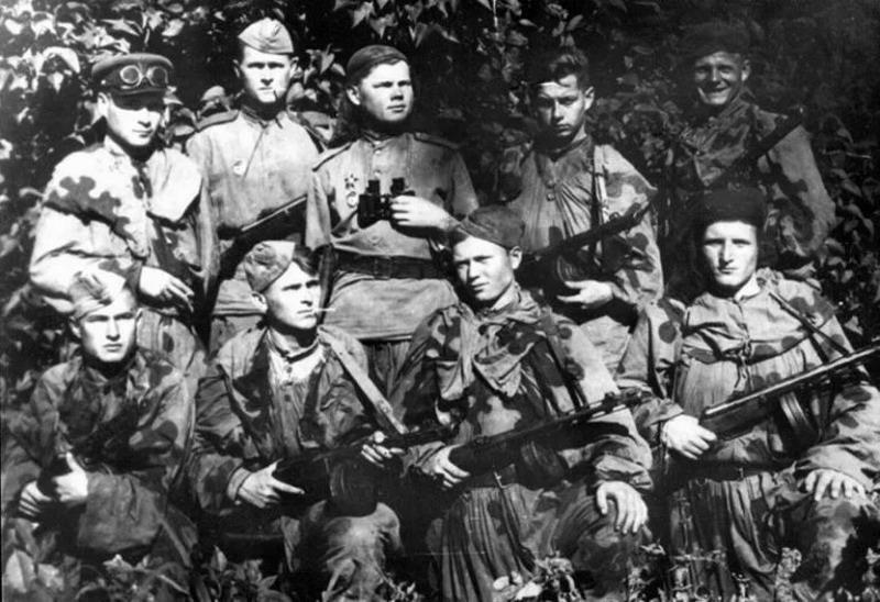 Как 25 русских разведчиков обратили в бегство пять тысяч фашистов