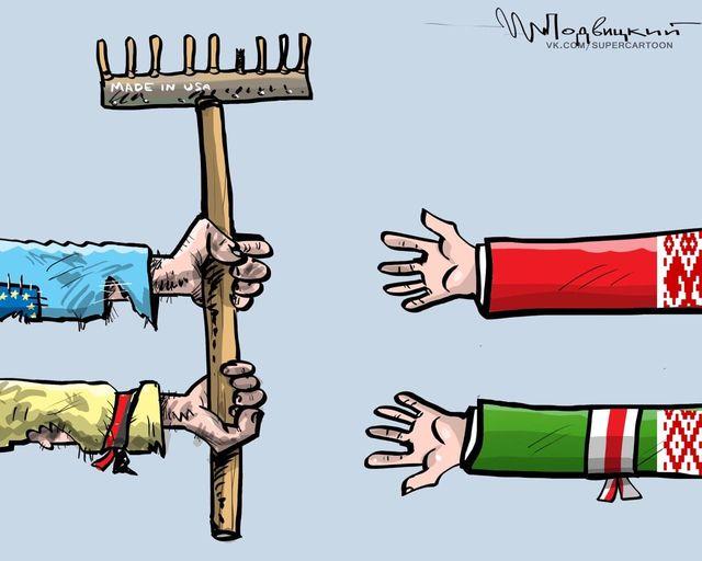 В Белоруссии началась война вдолгую. По-украински?