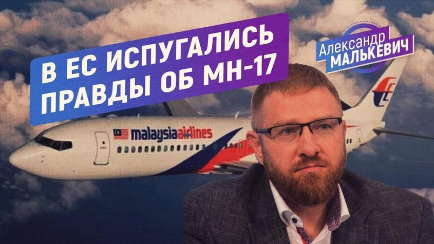 Пытаясь скрыть правду в деле MH-17, Европа взялась за Александра Малькевича