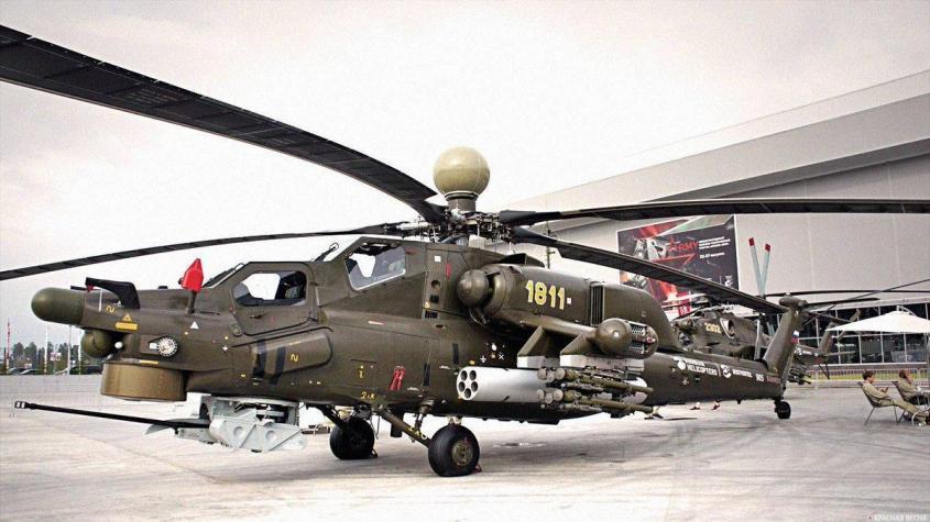 В российскую армию скоро начнут поступать обновленные боевые вертолёты Ми-28НМ, Ми-38Т, и Ми-26Т2В