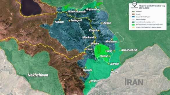 Война в Карабахе: готовится удар, который спровоцирует вмешательство армии России (+ФОТО, КАРТА)   Русская весна