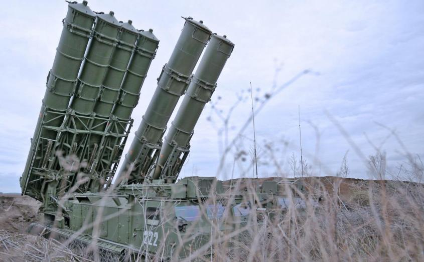 ЗРК С-300В4 сбивает новым боеприпасом гиперзвуковые ракеты