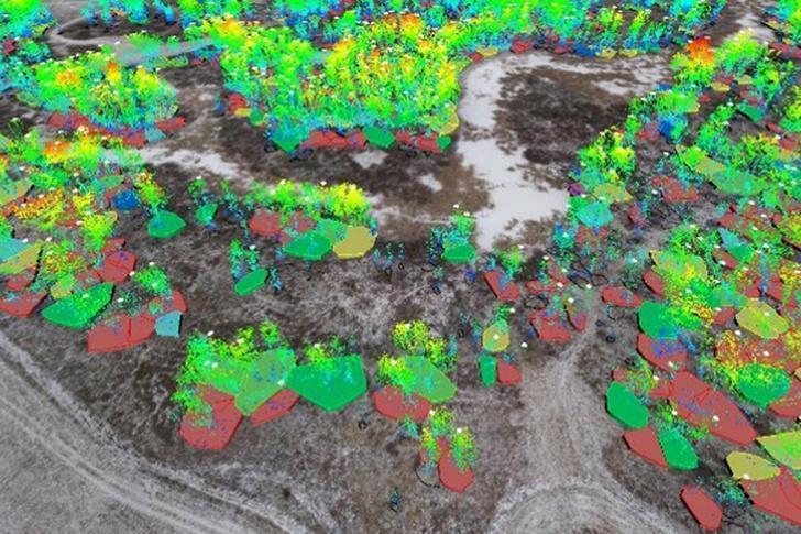«Газпром нефть» внедряет лазерное сканирование с беспилотников лесов и рельефа на месторождениях