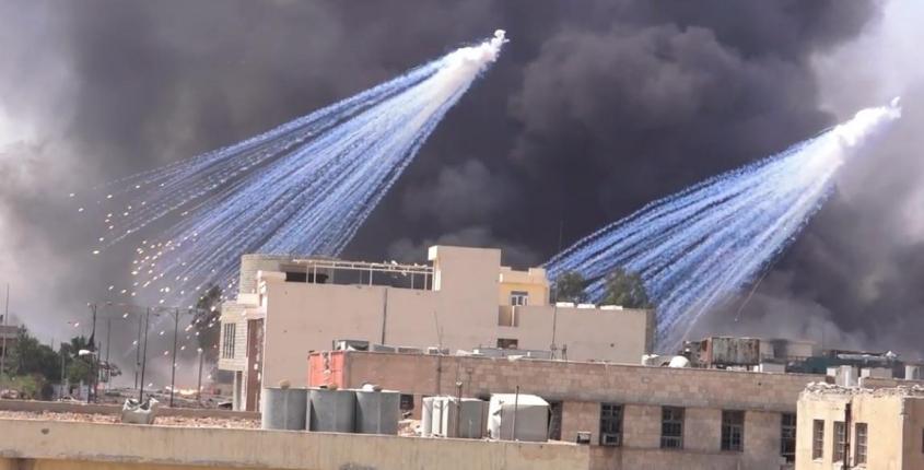 Армия России против Армии США в Сирии: фосфорные удары, горы трупов и освобождение страны