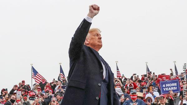 Нового президента США болеющим американцам доставят по почте