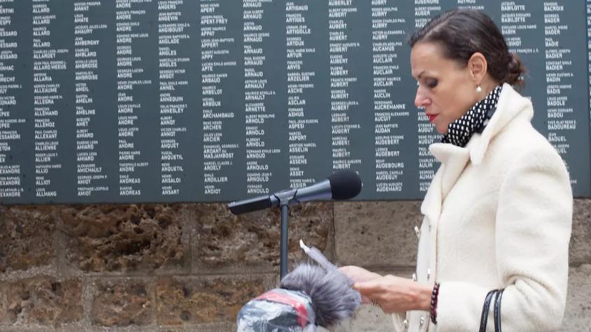В Париже почтили память «невинных жертв» Сталина – гитлеровских фашистов из Франции