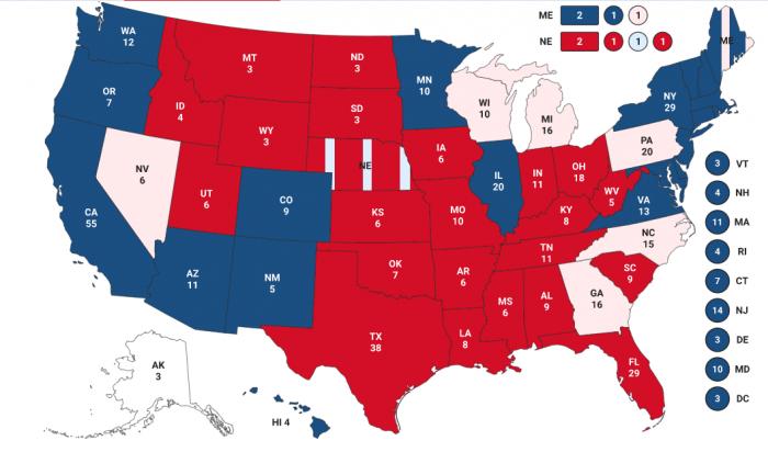 Трамп выигрывает выборы в США и теперь главный вопрос: признает ли свое поражение Байден?