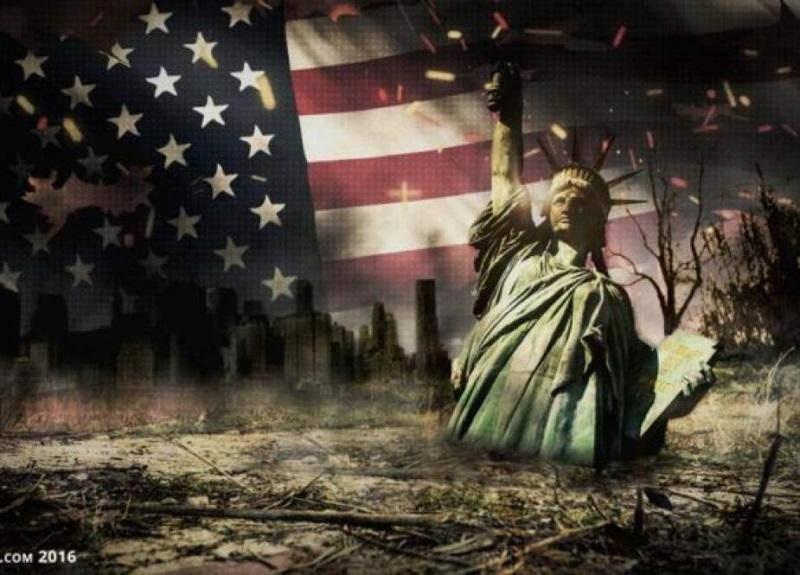 Когда именно рухнула англо-сионистская Империя США?