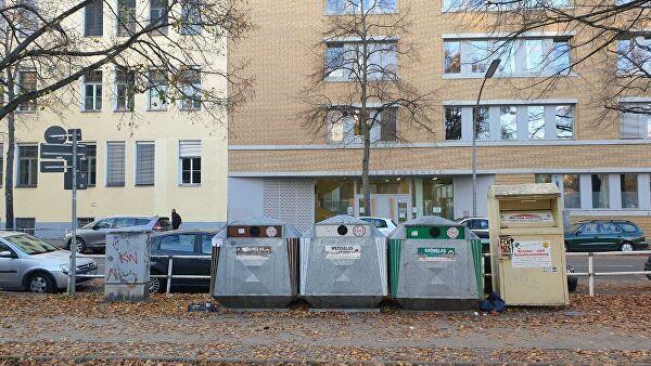 Мусорные баки в Берлине