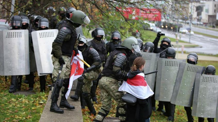 Несанкционированной акции в центре Минска: около 20 человек задержали
