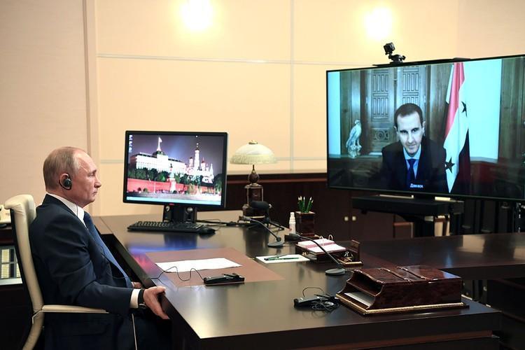 Есть определенный символизм в том, что перед началом очередного цикла военных совещаний Владимир Путин вышел на связь с президентом Сирии Башаром Асадом.