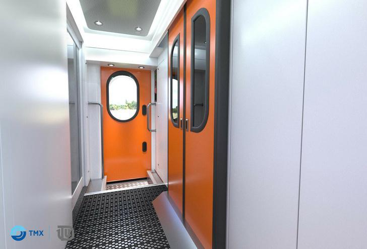 В России начаты испытания двухэтажного пассажирского вагона производства ТВЗ