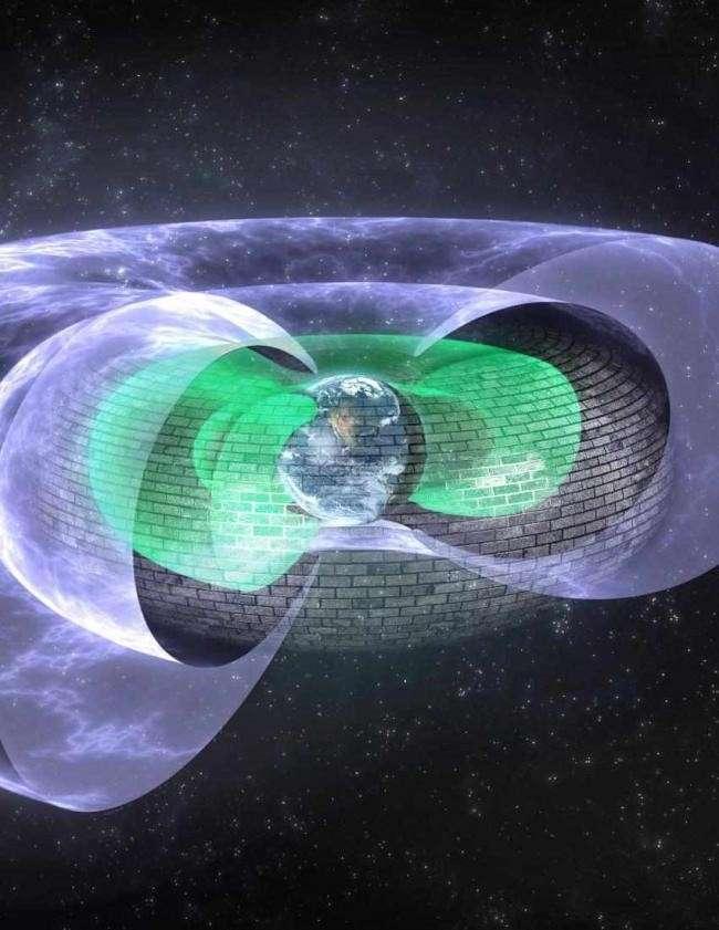 Вокруг Земли обнаружен невидимый силовой щит