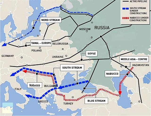 Газовый блеф Европы - дорого и далеко