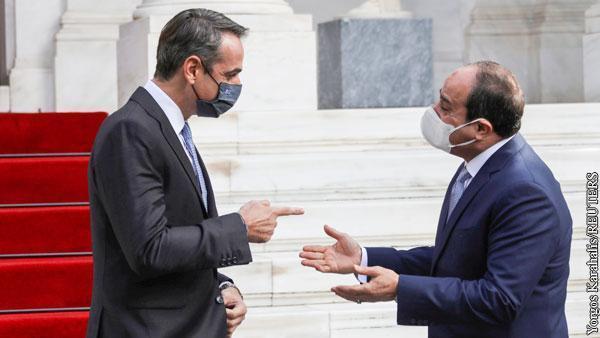 Египет и Греция создали в тылу у Эрдогана антитурецкий альянс