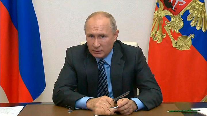 Владимир Путин рассказал о тяжелых испытаниях, через которые проходит Россия