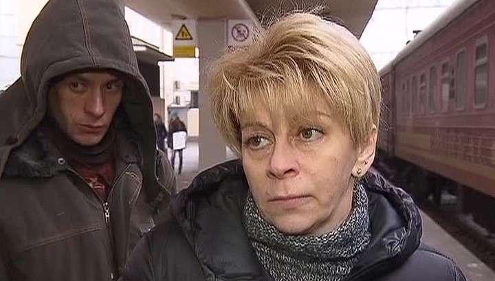 Доктор Лиза вывезла из Донецка ещё 13 больных детей