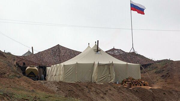 База российских миротворцев в Нагорном Карабахе