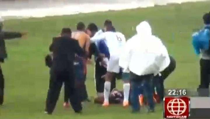 Перуанский футболист выжил после удара молнии