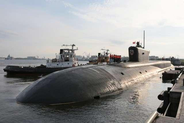 Подводный атомный крейсер «Владимир Мономах» передан сегодня ВМФ России