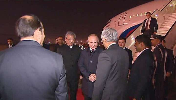 Владимир Путин прибыл в Индию